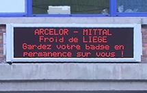 Afficheur led journaux lumineux led afficheur led for Afficheur led exterieur
